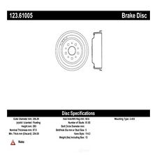 Brake Drum fits 1966-1973 Mercury Cyclone Cougar Comet  C-TEK BY CENTRIC