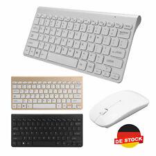 2.4 GHz Kabellose Tastatur und Maus Set Wireless Keyboard mit Drahtlose Funkmaus