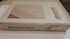 Advantest TR9407 Digital Spectrum Analyzer Handbuch