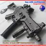 UMP9 Model Gun Keyring PUBG UMP9 Sub-machine gun Keychain Sniper Rifle Keyring