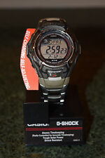Casio Men's MTGM900DA G-Shock Stainless Steel Tough Solar Atomic Digital Watch