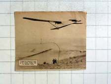 1935 Glider Just Released London Gliding Club Dunstable Downs