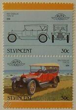 1916 CADILLAC TYPE 53 Timbres Voiture (les dirigeants du monde / auto 100)