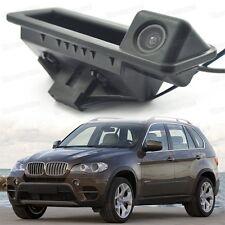 Mango de tronco de automóvil + Cámara De Visión Trasera Marcha Atrás Aparcamiento para BMW X5 2007-2016 E70 F15