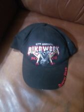 NWT Capsmith Ball Cap Daytona Beach Bike Week 2008 67th Save a Pole Ride a Biker
