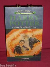 HARRY POTTER Half-Blood Prince, 2005 Promo/Promotional First Day Issue Bag ~ NEW