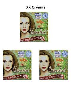 3 X Sandal Beauty Creams. 100% Original  from Pakistan  ( £6.49 EACH )