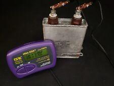 2uf Mfd 2kvdc High Voltage Oil Filled Energy Storage Capacitor Tested