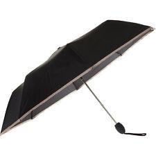 JEAN PAUL GAULTIER Black & Taupe Automatic Umbrella