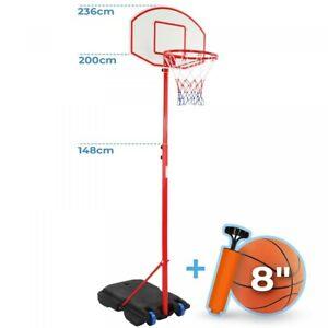 Infantastic® Basketballkorb Basketballständer Basketballanlage Korbanlage Kinder