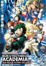 DVD Anime My Hero Academia The Movie: The Two Heroes (English Subtitle)