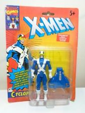 MARVEL X-MEN ACTION FIGURE - CYCLOPS + LIGHT UP EYES by TYCO 1993 - NEW ON CARD