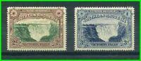 Southern Rhodesia 1935 Victoria Falls - Perf 14 - SC37-37A [SG35a-35b] MNH 21 A