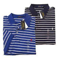 Polo Ralph Lauren Big & Tall Men's Striped Interlock Short Sleeve Polo Shirt
