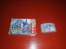 Twisted Edge Extreme Snowboarding - (Nintendo 64) -Box and Cartridge