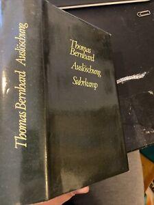 Thomas Bernhard: Auslöschung