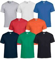 Gildan Mens DryBlend Adult Plain Crew Neck T-Shirt Tee Tshirt Cotton & Polyester