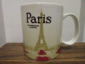 STARBUCKS 2014 PARIS EIFFEL TOWER COFFEE MUG COLLECTOR SERIES MUG