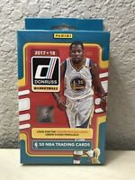 2017-18 Donruss Basketball Factory Sealed Hanger Box - Tatum RC? 🔥