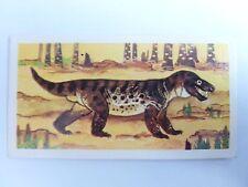 Brooke Bond Prehistoric Animals tea card 38. Cynognathus. Dinosaurs.