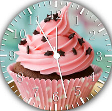 """Cup Cake wall Clock 10"""" will be nice Gift and Room wall Decor W166"""