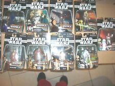 Lot of 9 Star Wars Episode III Greatest Battles Figurie