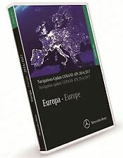 2017 MERCEDES COMAND NAVIGATION DVD EUROPE MAP UPDATE CLS E CL S SL SLK