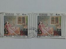2 x FRENCH STAMPS - BOTH 4,00