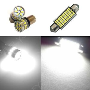 2 Map Reading 1 Dome White LED Interior lights SUPER BRIGHT 3014 Series for BMW