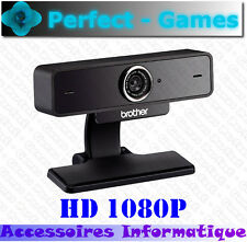 WEBCAM BROTHER NW-1000 HD 1080p grand angle autofocus visio conférence son HD