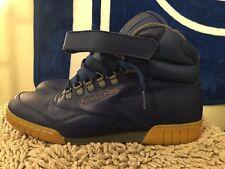 Reebok Ex-O-Fit Plus Hi, V44095, Navy/Gum, Men's Fashion Sneakers, Size 12