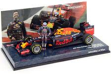 F1 1/43 RED BULL RB12 TAG HEUER RICCIARDO AUSTRIAN GP 2016 MINICHAMPS