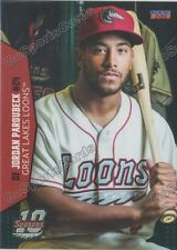 2016 Great Lakes Loons Jordan Paroubeck RC Rookie Dodgers Minor League
