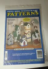 "The Winfield Collection ""Decorative Birdhouses"" Full Size Woodcraft Pattern #Db1"