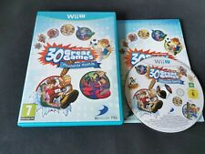 Family Party 30 Great Games Obstacle Arcade for Nintendo Wii U Complete