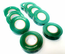 Green Insulating  / Insulation /  Electrical Tape 19mm  x 20m of 10 AD003 G