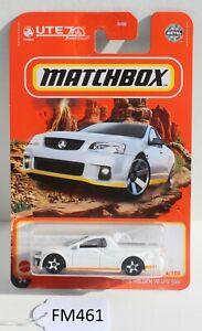 Matchbox MBX 2008 Holden VE UTE SSV White 64/100 FNQHotwheels FM461