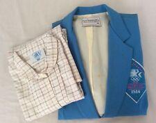 Levis Los Angeles 1984 Olympics Vtg Staff Uniform Blazer & Shirt