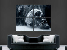 Smokin Smoking Skull gran gran pared arte cartel Imagen