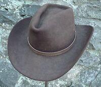 WESTERN HATBAND Hat Band Light Brown SNAKE SKIN W TIES