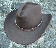 WESTERN HATBAND Hat Band Light Brown SNAKE SKIN W TIES