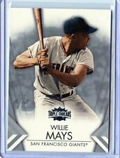 2012 TRIPLE THREADS #56 WILLIE MAYS - SAN FRANCISCO GIANTS