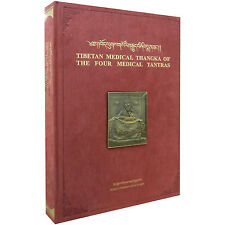 Tibetan Medical Thangka of The Four Medical Tantras – bilingual, English/Tibet X