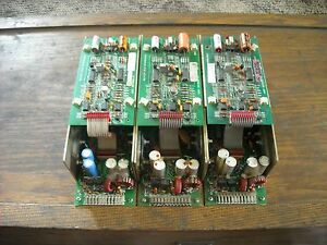 Lot of 3 MTS 375123-01 Power Supply 316 Controllers.