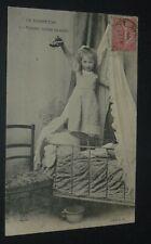 CPA CARTE POSTALE 1906 FRANCE LE HANNETON N°5 VICTOIRE ! BETE EST MORTE FILLETTE