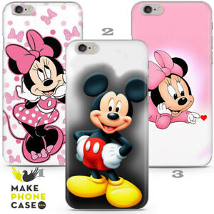 Mickey Mouse Minnie Kid Gift Cartoon Case Cover iPhone 5 6 7 8 11 12 X Xr