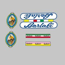 Gino Bartali Bicycle Frame Decals - Transfers - Stickers n.10