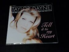 CD SINGLE - TAYLOR DAYNE - TELL IT TO MY HEART