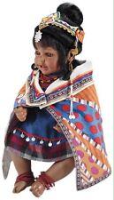 "NEW Marie Osmond Charisma Adora 22"" Weighted Vinyl Delila Kenya Baby Doll NIB"