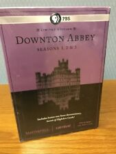 New Masterpiece Downton Abbey Seasons 1, 2 & 3 UK Edition Limited Edition Sealed